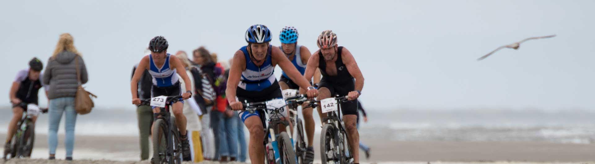 Tri-Ambla 2018 persbericht: Cross Triathleten strijden op het strand van Ameland